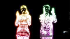S1507 街舞 炫酷酒吧 现代舞蹈开场秀 动感LED大屏视频素材设计制作