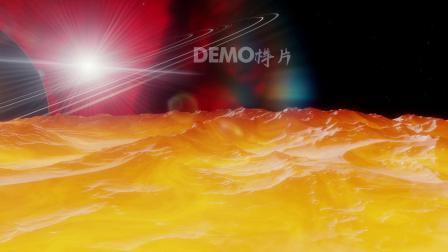 粒子视频 歌曲配乐视频 高清视频 f192 2K超清画质银河系太阳系宇宙穿梭恒星表面地表特写科学探索科普视频特效 ae片头