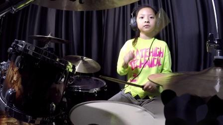 深圳鼓唐八岁小鼓手梁瑞芯《Justin Time》鼓唐音乐