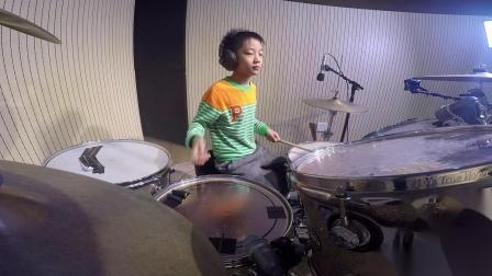 深圳鼓唐八岁小鼓手高嘉翊《Slipstream》鼓唐音乐
