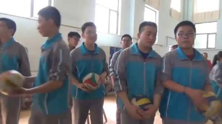 [配课件教案]1.八年级体育《正面屈体扣球》全国