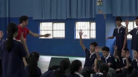 [配课件教案]1.九年级体育《跨栏跑》广东省市一