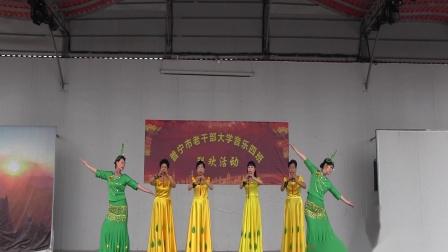 普宁市老干部大学音乐4班联欢活动04 葫芦丝合奏