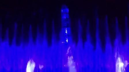 上海欢乐谷水幕加音乐喷泉