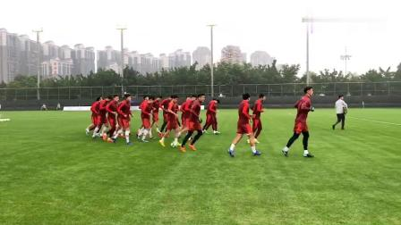 """2019""""格力·中国杯""""亚博体育国际足球锦标赛,中国队积极备战"""