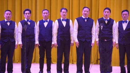 男生小组唱《秋蝉》2019年柳州市老年大学韦雅老