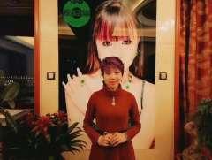 翡翠女神吕秀娟衷心祝愿2020年红色风景迎春晚会