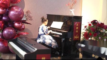 5、贝思特培训学校钢琴音乐会赵可馨《乘黄包车