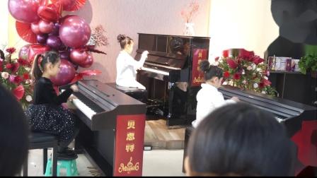 6、贝思特培训学校钢琴音乐会钢琴串烧吕天姌陈