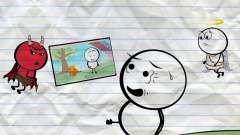 【微微一笑】最新版铅笔人搞笑动画创意涂鸦: