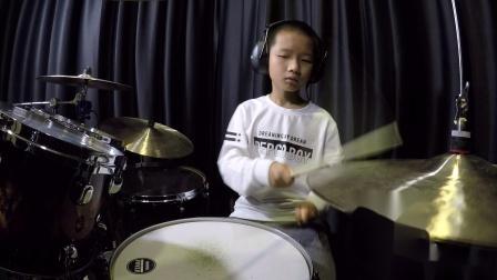 深圳鼓唐十一岁小鼓手聂鹏宇《Cold Pants》鼓唐音