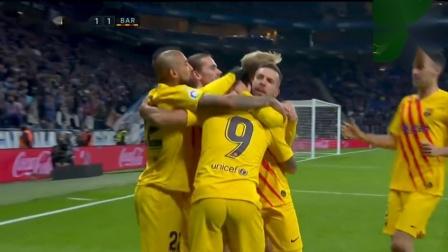 【听雨轩瑞恩】2019-20西甲19轮西班牙人vs巴塞罗那下半场