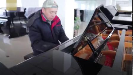【人间烟火最动人:现实版海上钢琴师,当油漆
