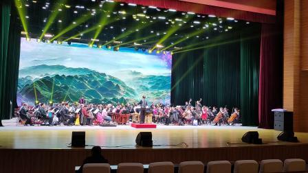 器乐合奏&瑶族舞曲&排练 双鸭山市迎春音乐会