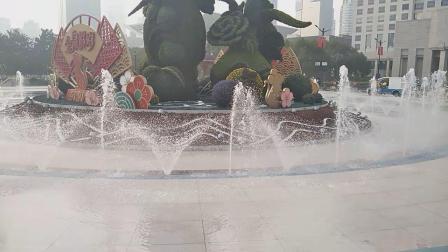 人民广场音乐喷泉《国家》