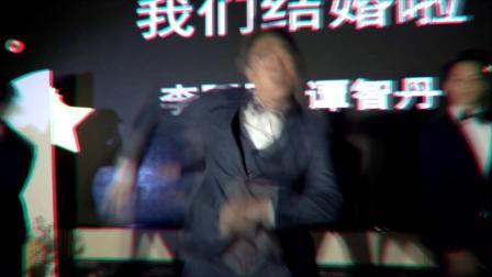 【完美婚庆】新郎热舞开场 气氛爆炸婚礼现场