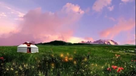 《呼仑贝尔大草原》背景视频有音乐