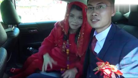实拍:江西农村姑娘出嫁,出门时,音乐响了