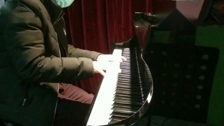 广西柳州市音乐家协会创作歌曲-《武汉加油》钢琴改编演奏