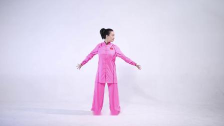 世界武术冠军、北京体育大学刘晓蕾副教授教大家练习八段锦