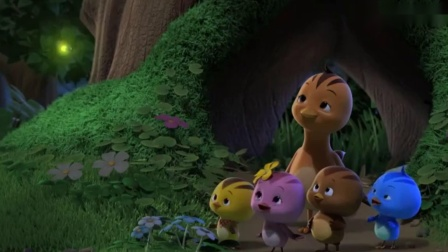 萌鸡小队:睡前故事讲完了,可萌鸡们还没听够,真是太扫兴了
