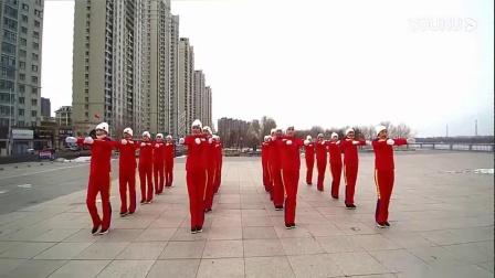 热身运动+佳木斯新操D组音乐跳步运动拍手运动