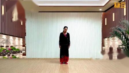 応子广场舞《在那东山顶上》藏族热身舞附教学