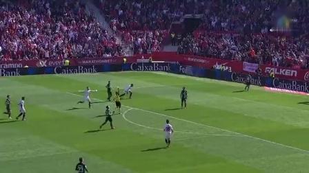 西甲|武磊西甲客场首球 10人西人2-2平塞维利亚 凌晨