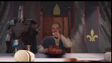 搞笑动画:法国人喜欢吃蜗牛的由来,原来以前蜗牛是吃肉的!.mp4