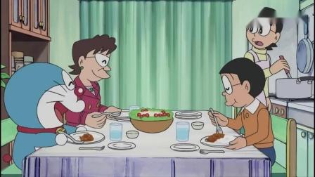 哆啦A梦:大雄帮美女明星,偷得浮生半日闲,原