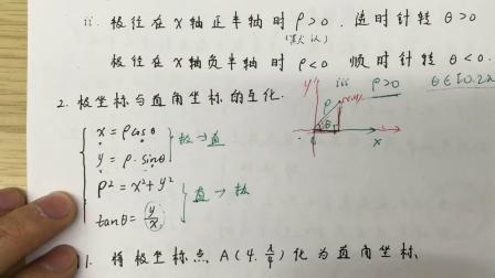 高中数学教学视频全套 极坐标参数方程 蓝光 1080P -57-868