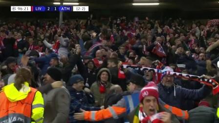 19/20赛季欧冠次回合利物浦 VS 马德里竞技全场集锦(总比分2-4 英文解说)