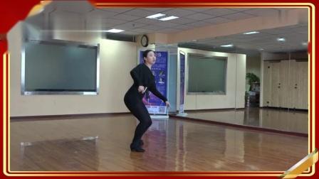 (美女金牌教师-沈子晴)手把手教你跳牛仔舞《
