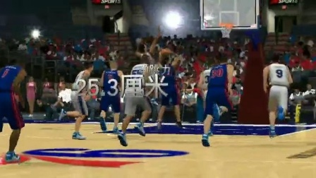 【24thPAC 寒假视频】NBA2K EVERETT POWERS集锦 By赵锦图