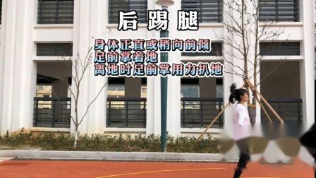 3月27日 五年级体育《韵律操的练习方法》