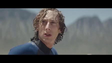 奇趣创意广告:冲浪意外被救来到了婴儿海滩!