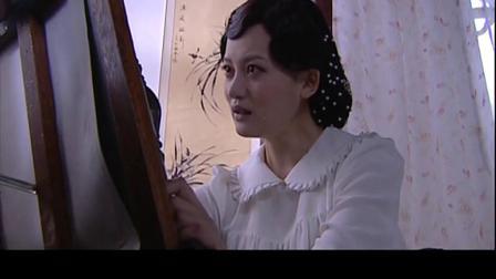 美女素描画出去世丈夫的容貌,不忍相思痛哭不