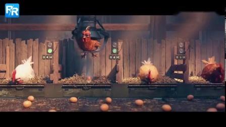 """「创意广告」群鸡变程序猿做蛋 拯救""""难产""""鸡"""