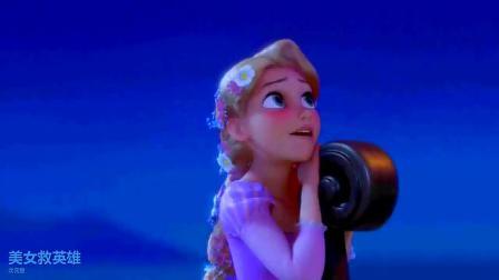 美女救英雄,冰雪女王知道杰克有危险,立即前