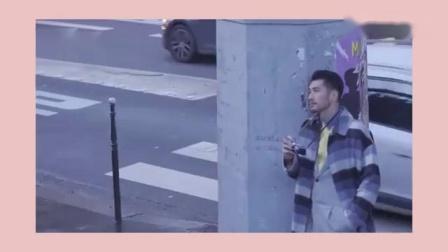 高以翔法国街拍:羽绒服都能穿得时尚,巴黎铁
