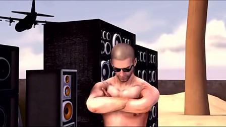 刺激战场搞笑动画:音箱挂,这样也能吃鸡.mp4