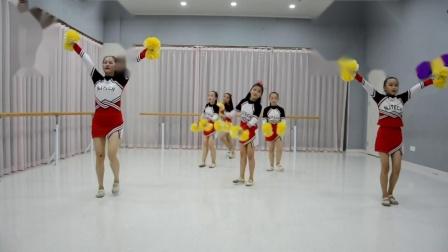 啦啦队舞蹈视频完整版小学