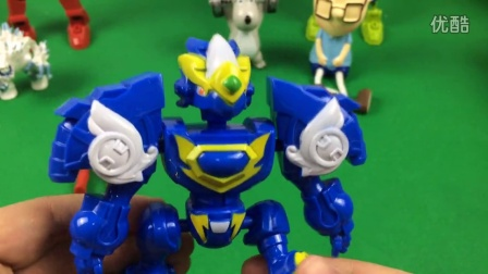 斗龙战士之龙印之战 玩具拆封 117