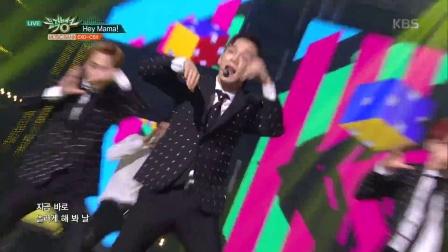 【风车·韩语】EXO-CBX《Hey Mama!》音乐银行1111现场版
