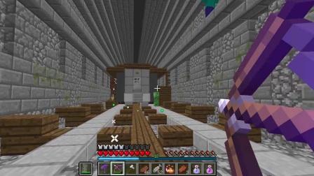大海解说 我的世界Minecraft 僵尸攻城4僵尸列车.mp4
