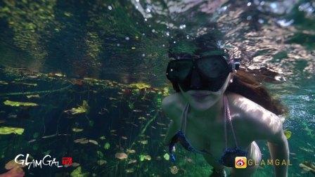 GlamGal:@TTLouie 畅游墨西哥坎昆 最美小众潜水胜地
