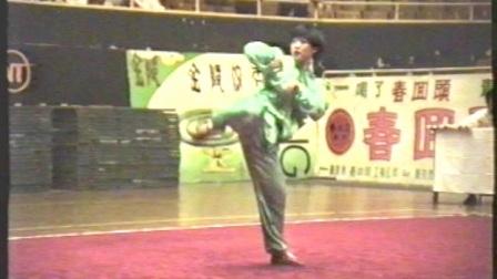 1995年全国武术套路锦标赛 女子传统项目 三类拳 004 螳螂拳 刘艳艳(四川)