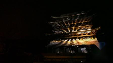古北水镇音乐喷泉-建筑光影水秀系列《神秘的古