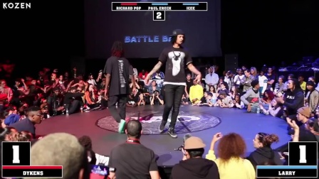 DYKENS vs LARRY LES TWINS - *attle *AD 2018 - HIP-HOP 决赛