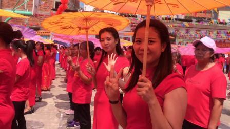 2019年钦州市钦北区新棠镇屯王村金花感恩联谊活动